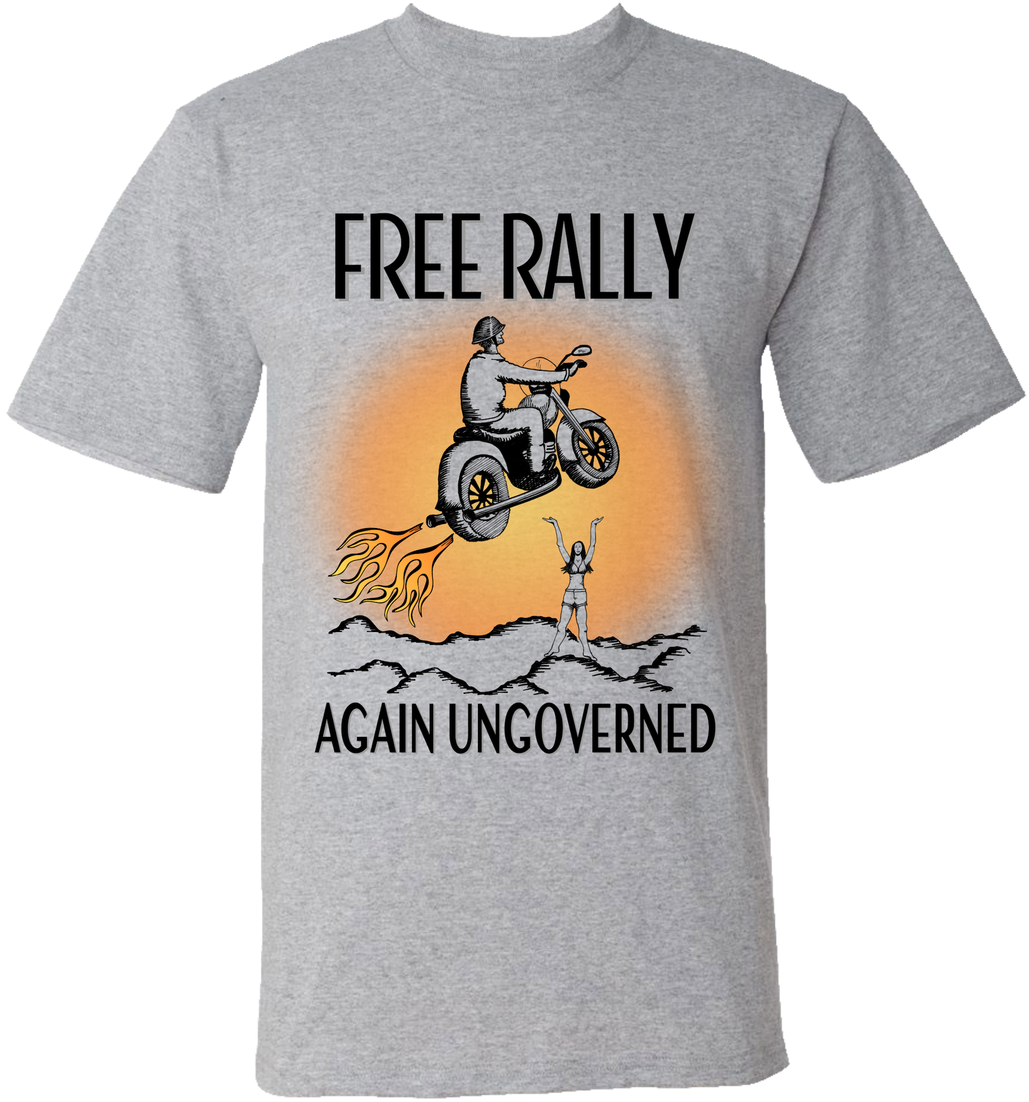 FREE RALLY - Again Ungoverned
