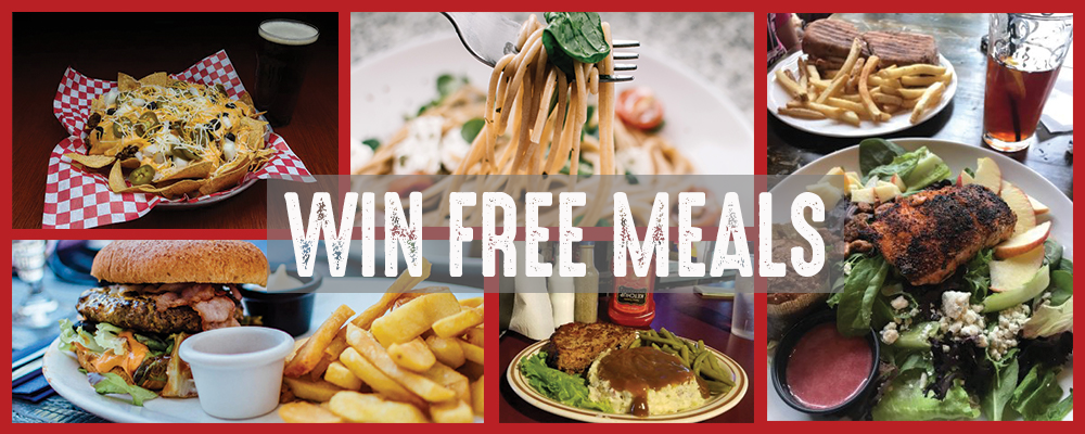 Enter to win free meals