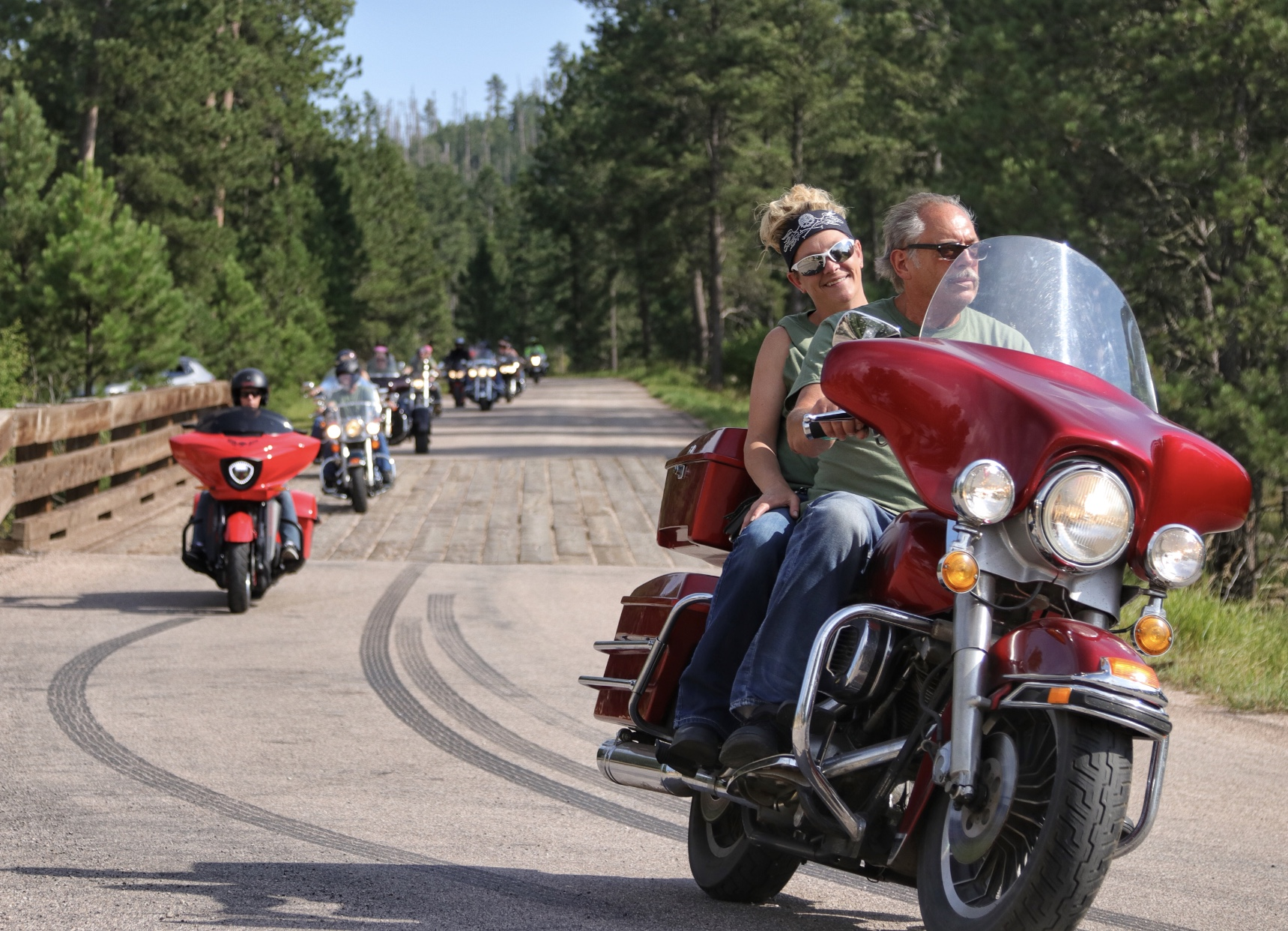 Custer Mayor's Ride photo #2