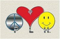 Peace Love Happiness Ride