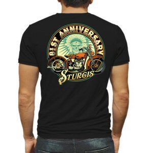 A. Sturgis.com 81st Anniversary Motorcycle Rally T-Shirt