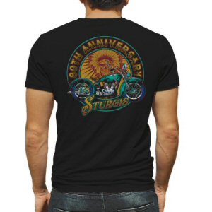 Finally! Official Sturgis.com 80th Anniversary Motorcycle Rally T-Shirt.