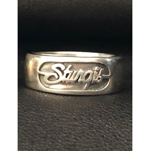 G. LADIES' STURGIS STERLING SILVER RING